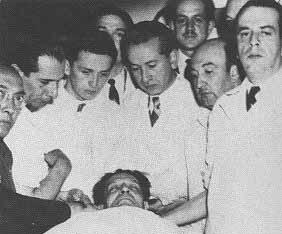 Asesinado Jorge Eliecer gaitan  muerto