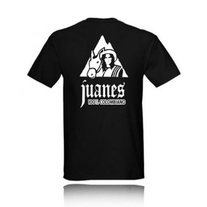 T-SHIRT JUANES 100% COLOMBIANO