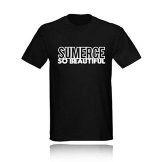 T-SHIRT SUMERCE SO BEAUTIFUL camiseta black negra