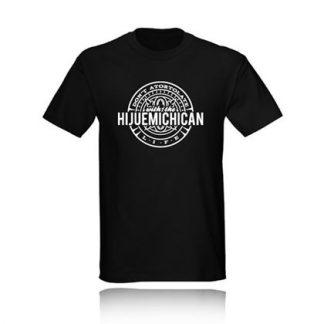 T-Shirt DON'T ATORTOLATE WITH THE HIJUEMICHICAN LIFE camiseta negra black