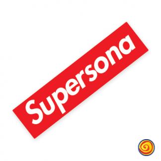 locombianos sticker parodia supreme parody supersona calcomania pegatina sticker decal