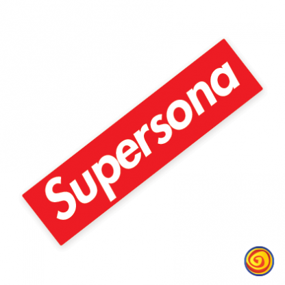 locombianos sticker parodia supreme parody supersona calcomania pegatina sticker decal