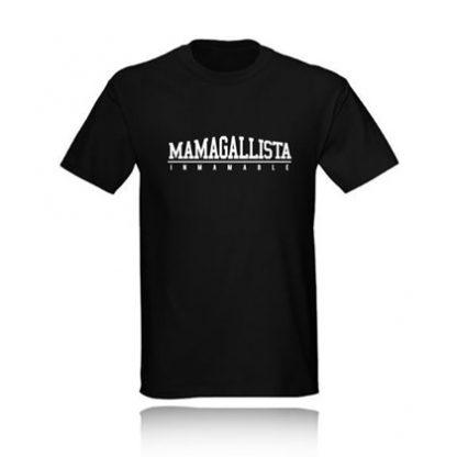 t-shirt mamagallista inmamable camiseta negra black