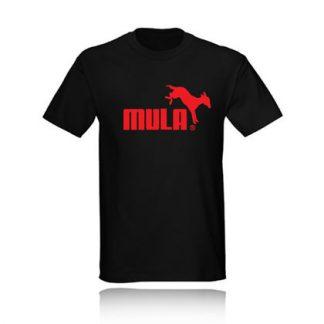 t-shirt mula puma camiseta black negra